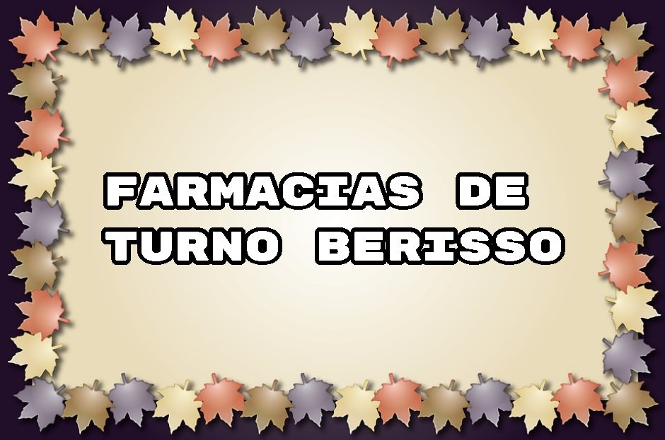 farmacia de guardia berisso
